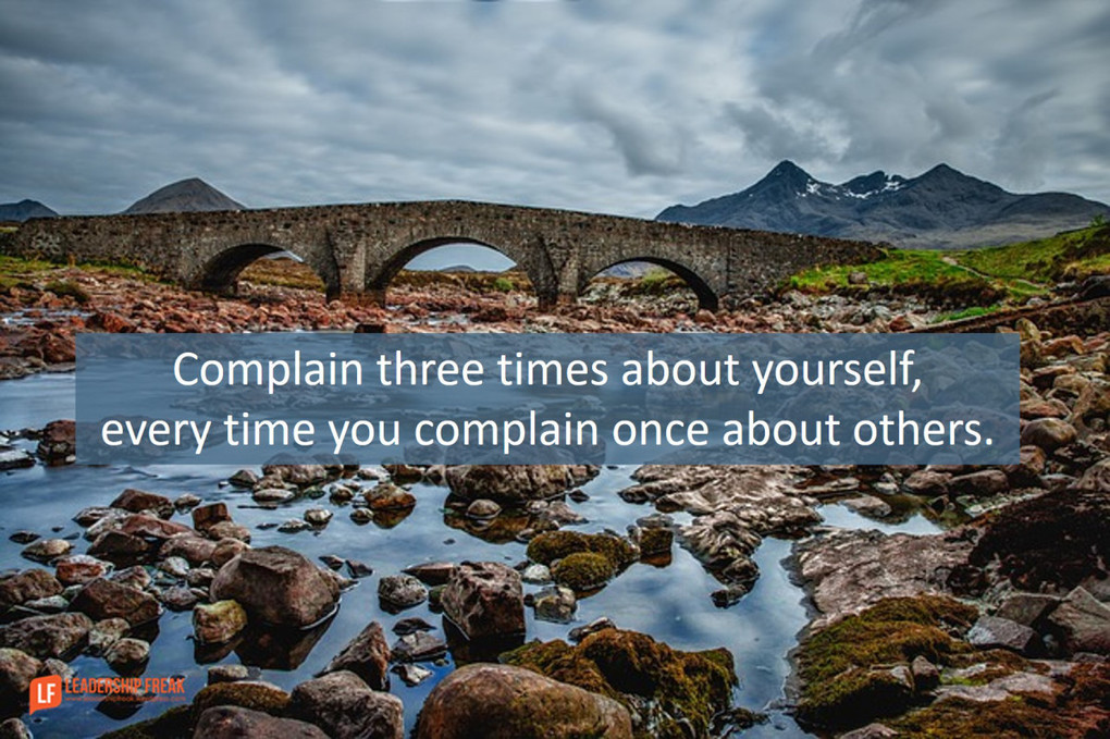 How to Complain Like a Leader
