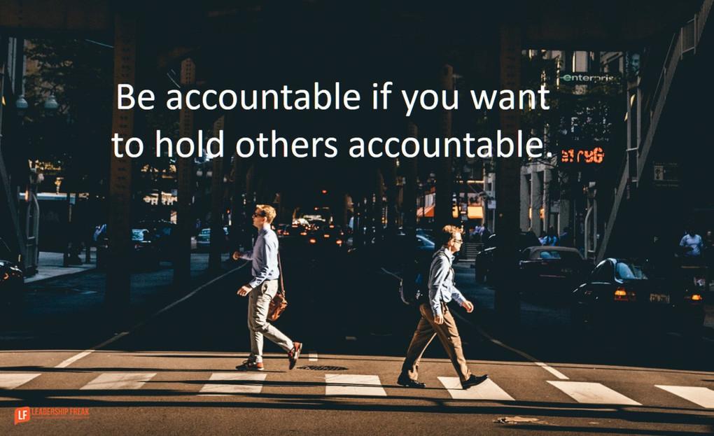 Accountability as an Energy-Giving Experience
