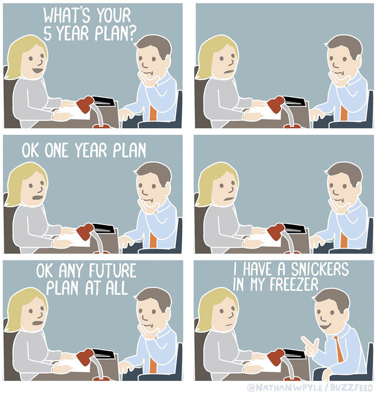 10 Hilarious Comics Show What Not To Say During Job Interviews