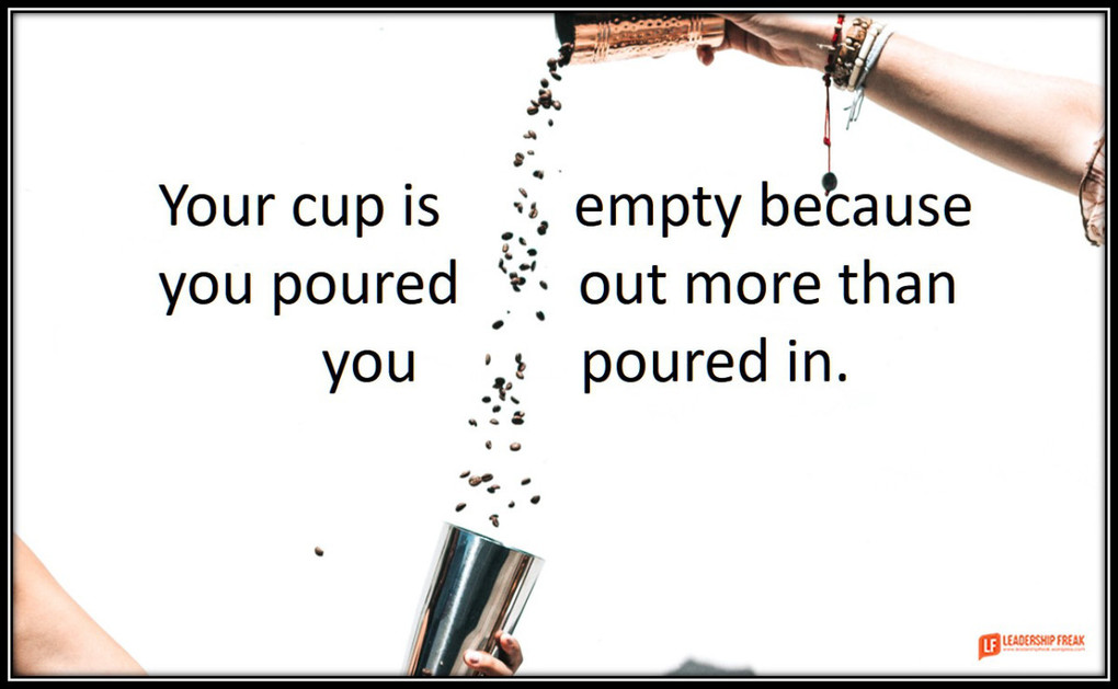 The Truth About Filling Your Own Cup