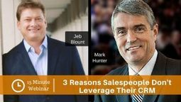 3 Reasons Why Salespeople Treat the CRM Like a Trash Can