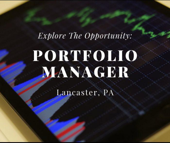 Senior Portfolio Manager- Lancaster, PA