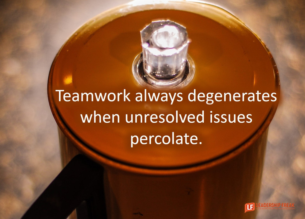 Why Teams Fail