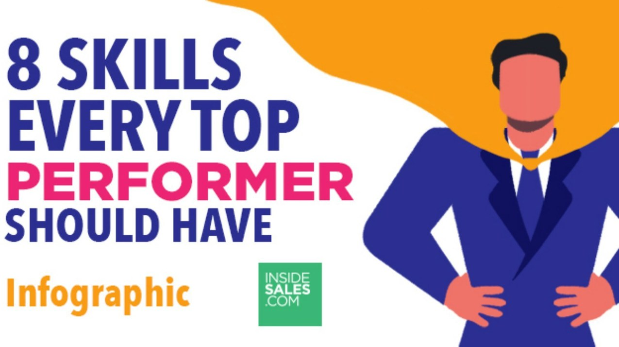 8 Sales Skills Of The Best Performers