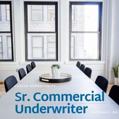 Commercial Underwriter- Commercial Banking- Cincinnati, Ohio
