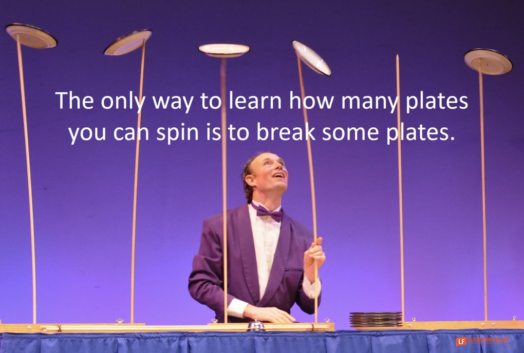 The Plate-Drop Challenge: How to Respond to Failure