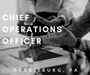 Chief Operations Officer – Harrisburg, PA
