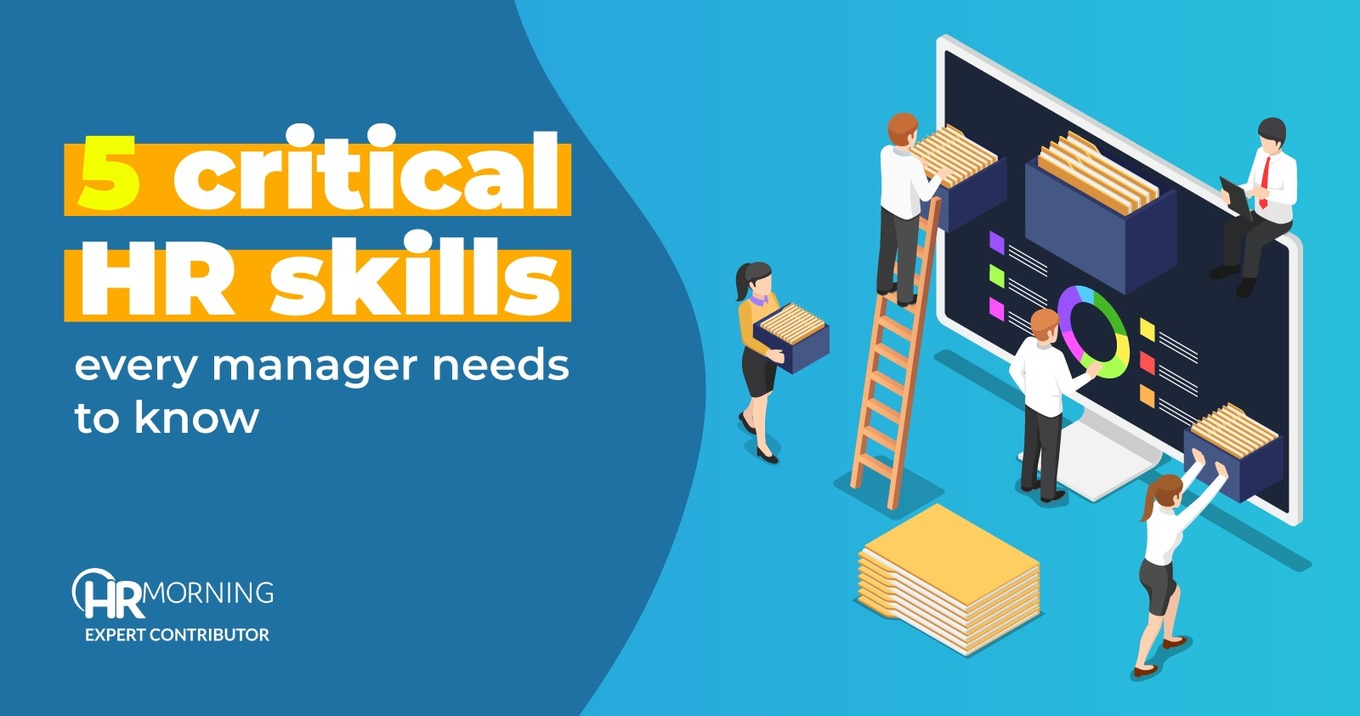 5 Critical HR Skills Every Manager Needs to Know