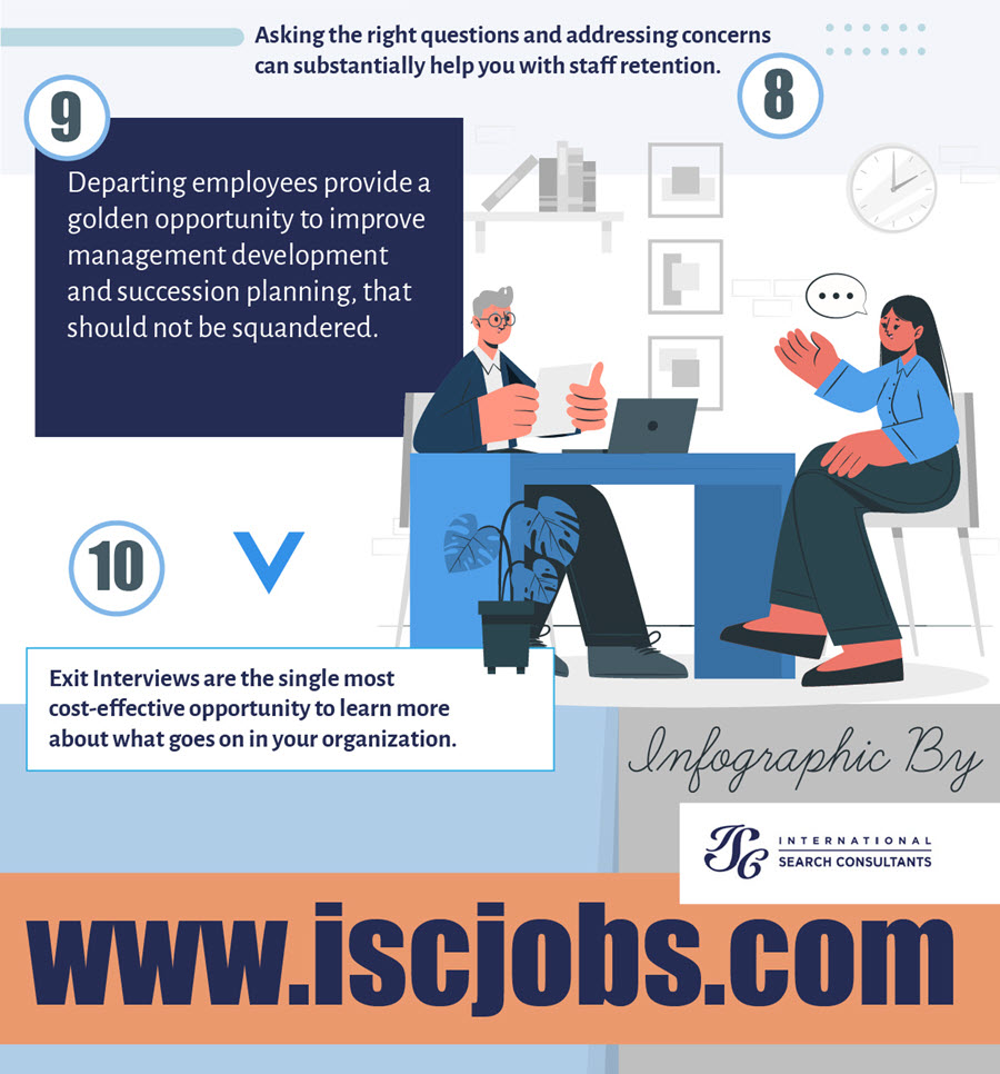 Infographic: Exit Interviews Offer Tremendous Benefits