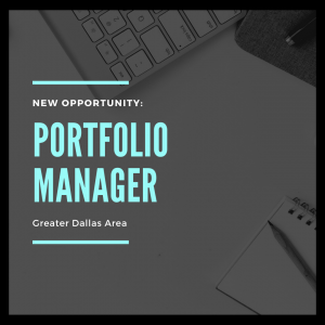 Portfolio Manager - New Opportunity