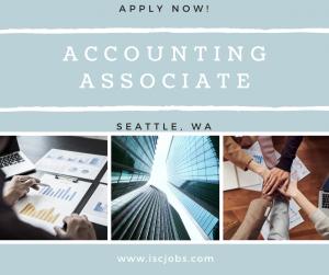 Accounting Associate - Seattle, WA