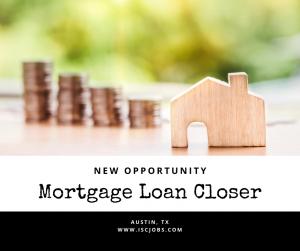 Mortgage Loan Closer - Austin, TX