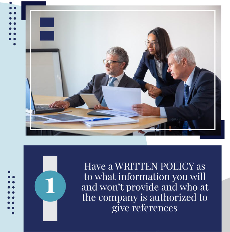 Tips for Employers Providing References