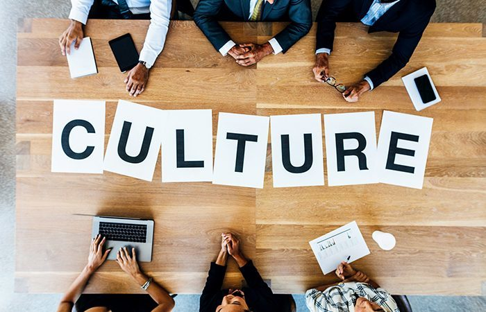 When is the best time to work on the sales culture?