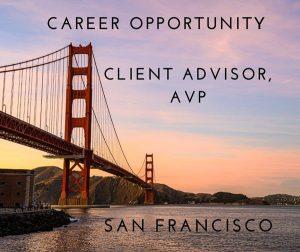 Client Advisor AVP San Francisco