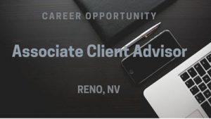 Associate Client Advisor Reno, Nevada