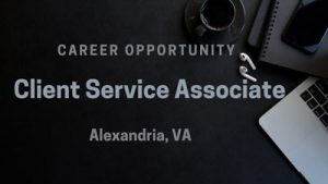 Client Service Associate Alexandria